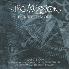 The Mission ‎– For Ever More - Live at London Shepherd's Bush Empire 27/02/08-01/03/08 (BOX) - Wave Records