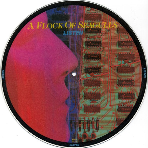 A FLOCK OF SEAGULLS - LISTEN (VINIL PICTURE)