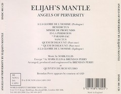 ELIJAH´S MANTLE - ANGELS OF PERVERSITY (CD)