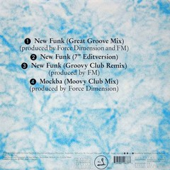 FORCE DIMENSION - NEW FUNK (CD SINGLE) - comprar online