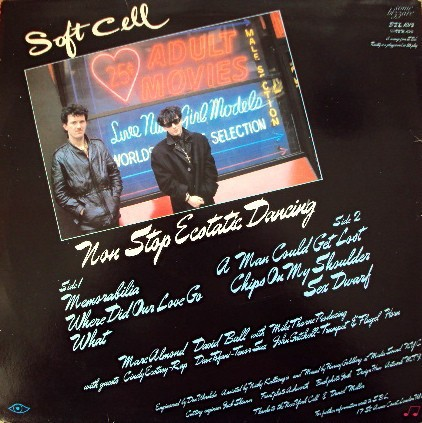 Soft Cell - Non Stop Ecstatic Dancing (VINIL) - comprar online