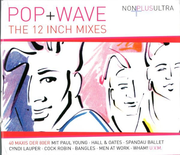 COMPILAÇÃO - POP + WAVE - THE 12 INCH MIXES (BOX - 5CDS)