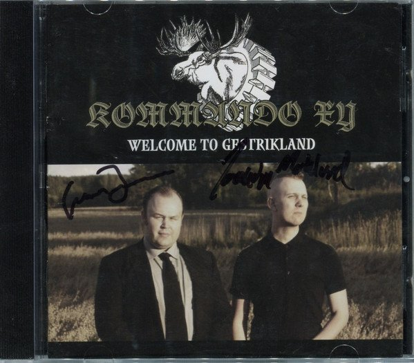 Kommando XY ?- Welcome To Gestrikland (CD)