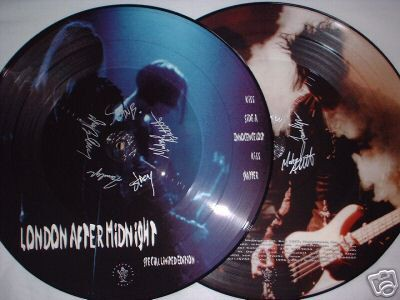 LONDON AFTER MIDNIGHT - KISS (LTD EDITION) (VINIL PICTURE)