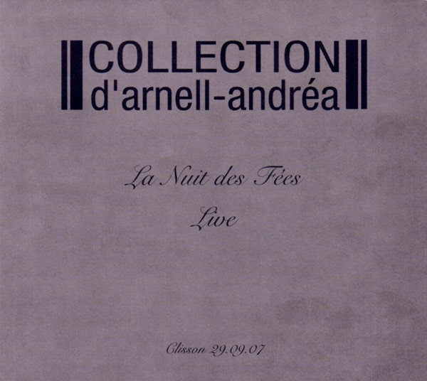 COLLECTION D´ARNELL-ANDREA - LA NUIT DES FÉES (CD)