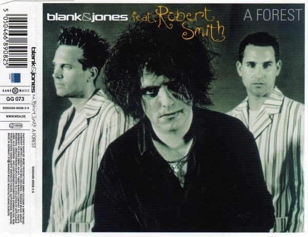 Blank & Jones Feat. Robert Smith ?- A Forest (cd single)
