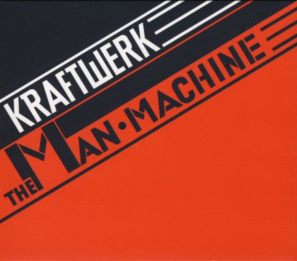 KRAFTWERK - THE MAN MACHINE + EXPANDED ARTWORK (CD)