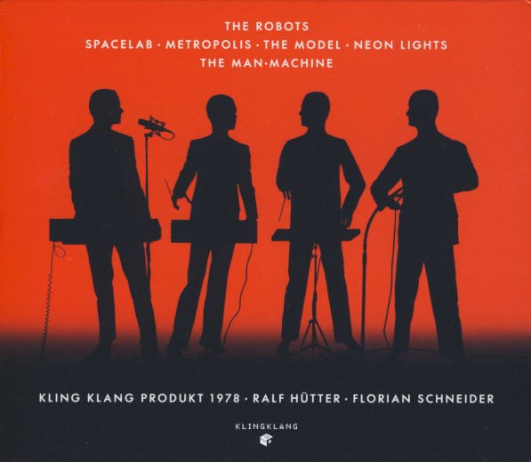 KRAFTWERK - THE MAN MACHINE + EXPANDED ARTWORK (CD) - comprar online