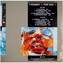 Front 242 - Tyranny for You (VINIL) - comprar online