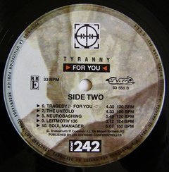 Front 242 - Tyranny for You (VINIL) na internet
