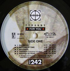 Front 242 - Tyranny for You (VINIL) - Wave Records