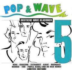 COMPILAÇÃO - POP & WAVE - DEUTSCHE WAVE KLASSIKER 5  (CD DUPLO)