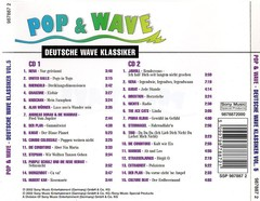 COMPILAÇÃO - POP & WAVE - DEUTSCHE WAVE KLASSIKER 5  (CD DUPLO) - comprar online
