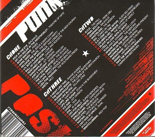 COMPILAÇÃO - POST-PUNK - ORIGINAL ANTHEMS FROM THE 70´S AND 80´S  (BOX) - comprar online