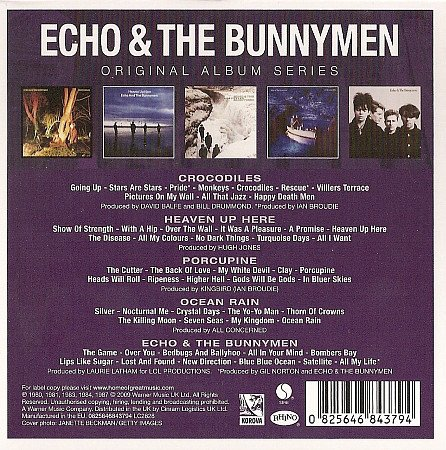 ECHO AND THE BUNNYMEN - ORIGINAL ALBUM SERIES (BOX) - comprar online
