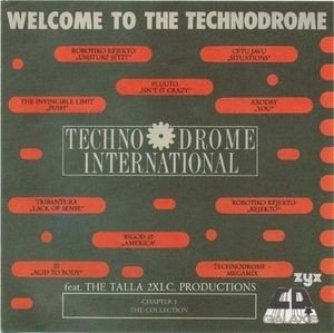 Compilation - Welcome to The Technodrome (cd)