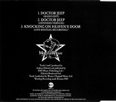 THE SISTERS OF MERCY - DOCTOR JEEP (CD SINGLE) - comprar online