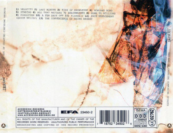 Diorama ?– The Art Of Creating Confusing Spirits (CD) - comprar online