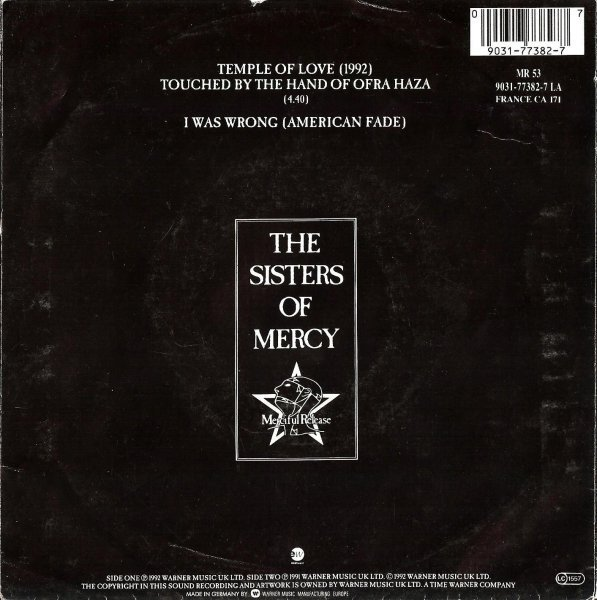 The Sisters Of Mercy ‎– Temple Of Love (1992) (7