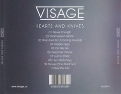 VISAGE - HEARST AND KNIVES (CD + CDSINGLE + CD SINGLE LTD EDITION)