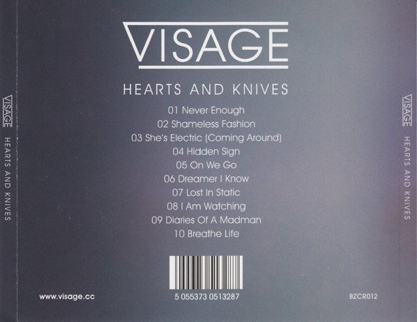 VISAGE - HEARST AND KNIVES (CD + CDSINGLE + CD SINGLE LTD EDITION) - comprar online