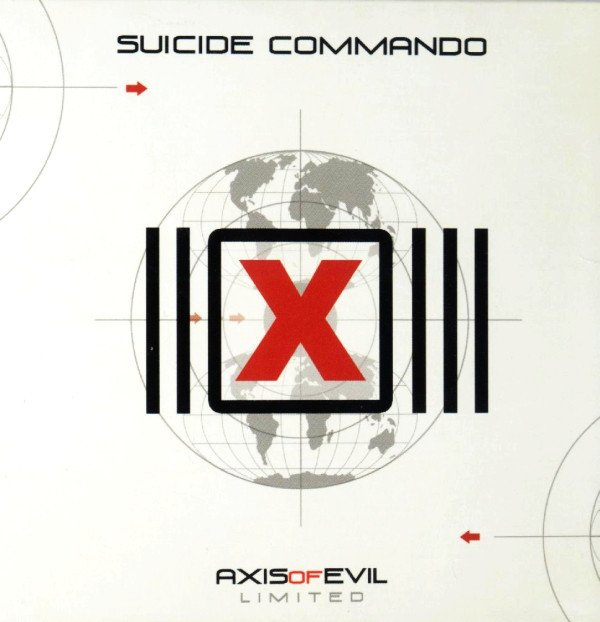 Suicide Commando ?- Axis Of Evil BOX (CD + DVD)