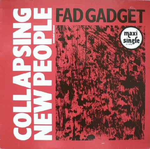 Fad Gadget ‎– Collapsing New People (Extended Versions) (VINIL)