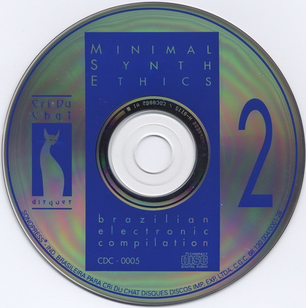 COMPILAÇÃO - MINIMAL SYNTH ETHICS VOL. 2 (CD) na internet