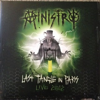 MINISTRY - LAST TANGLE IN PARIS (VINIL DUPLO)