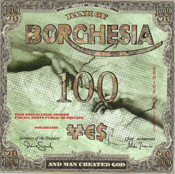 BORGHESIA - AND MAN CREATED GOD (VINIL)