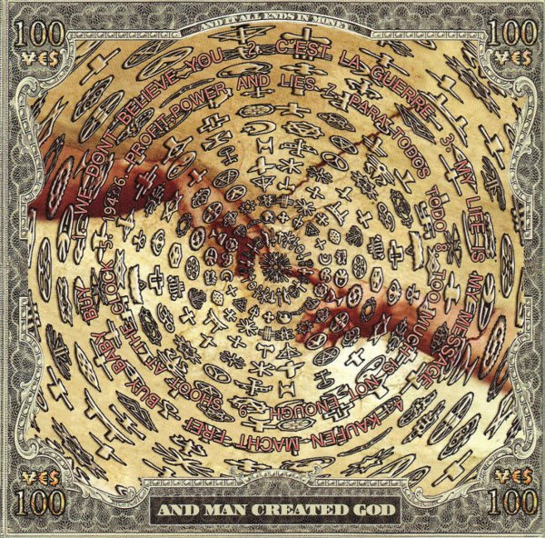 BORGHESIA - AND MAN CREATED GOD (VINIL) - comprar online