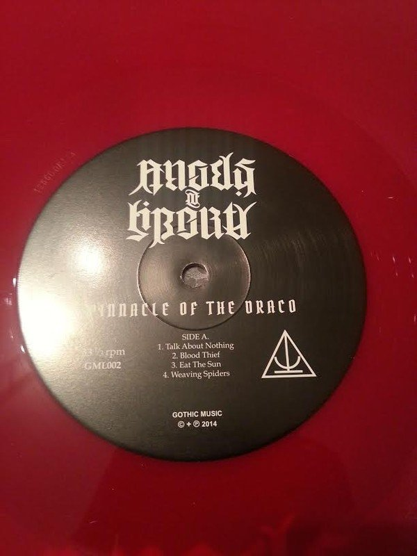 ANGELS OF LIBERTY - PINNACLE OF THE DRACO (VINIL RED) - comprar online