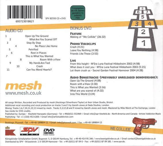 MESH - WE COLLIDE (CD+DVD) - comprar online
