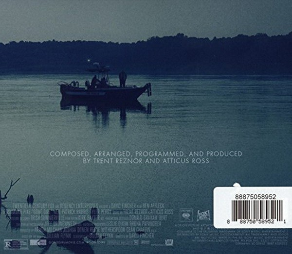 Trent Reznor (NIN) And Atticus Ross - Gone Girl (Soundtrack From The Motion Picture) (CD DUPLO) - comprar online