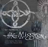 THE MISSION - GOD´S WON MEDICINE - LONDON LIVE 2008 (VINIL)