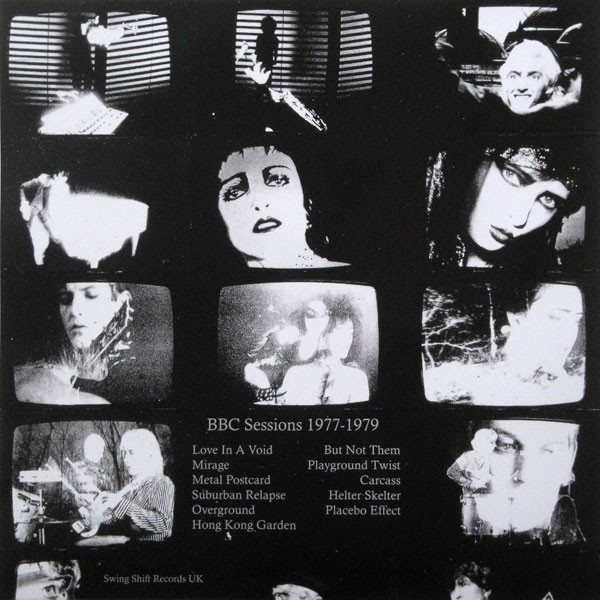 SIOUXSIE AND THE BANSHEES - SONGS FROM THE VOID BBC SESSIONS 77-79 (VINIL) - comprar online