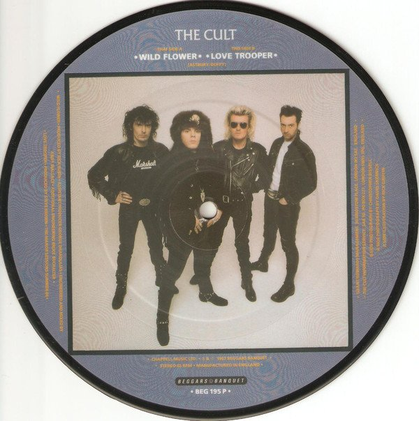 THE CULT - WILD FLOWER (7