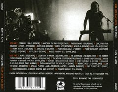 Nine Inch Nails with David Bowie - Back In Anger (CD DUPLO)