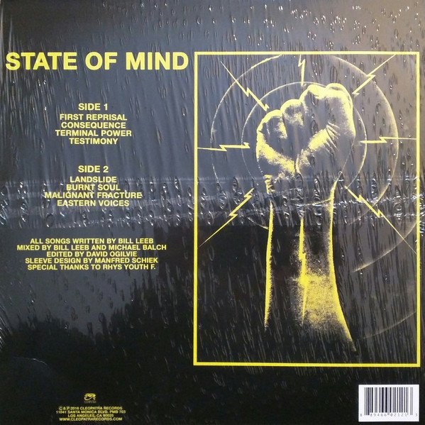 FRONT LINE ASSEMBLY - STATE OF MIND (VINIL YELLOW) - comprar online