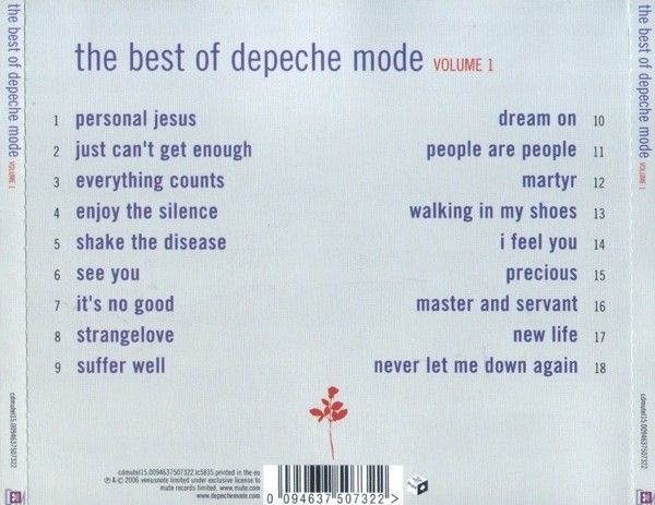 DEPECHE MODE - THE BEST OF (CD) - comprar online