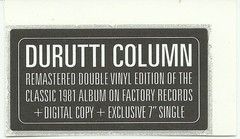 DURUTTI COLUMN, THE - LC (VINIL DUPLO + 7
