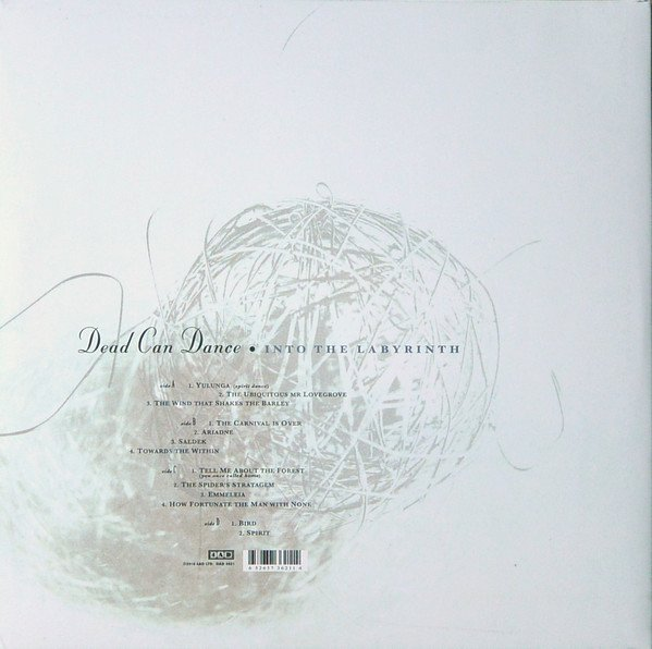 Dead Can Dance ‎– Into The Labyrinth (VINIL DUPLO) - comprar online