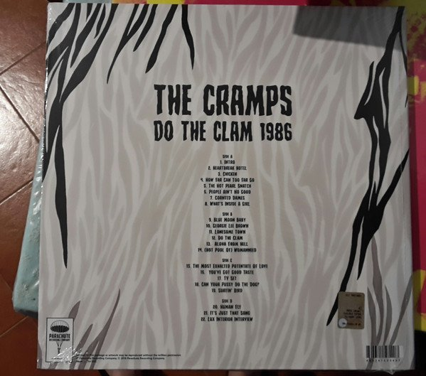 CRAMPS, THE - DO THE CLAM 1986 (VINIL) - comprar online