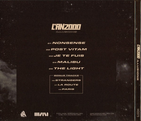 L´AN2000 - ILLUSIONS (CD) - comprar online