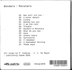 UnderViewer (Projeto Pre-Front 242) ?- Wonders & Monsters (CD)