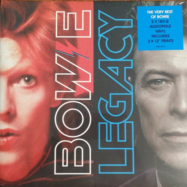 DAVID BOWIE - LEGACY - THE VERY BEST DAVID BOWIE (VINIL DUPLO)