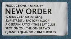 COMPILAÇÃO - NEW ORDER   PRESENTS BE MUSIC (VINIL DUPLO) na internet