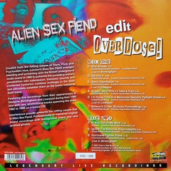 ALIEN SEX FIEND - EDIT / OVERDOSE! (VINIL + CD) - comprar online