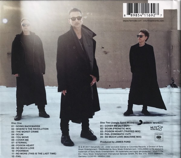 DEPECHE MODE - SPIRIT (BOX) - comprar online