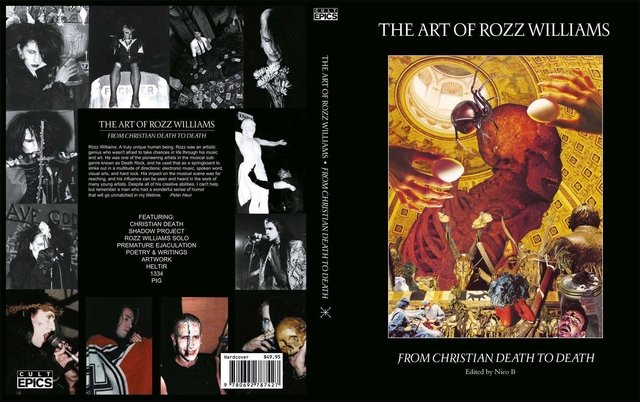 The Art of ROZZ WILLIAMS (book hardcover) - comprar online